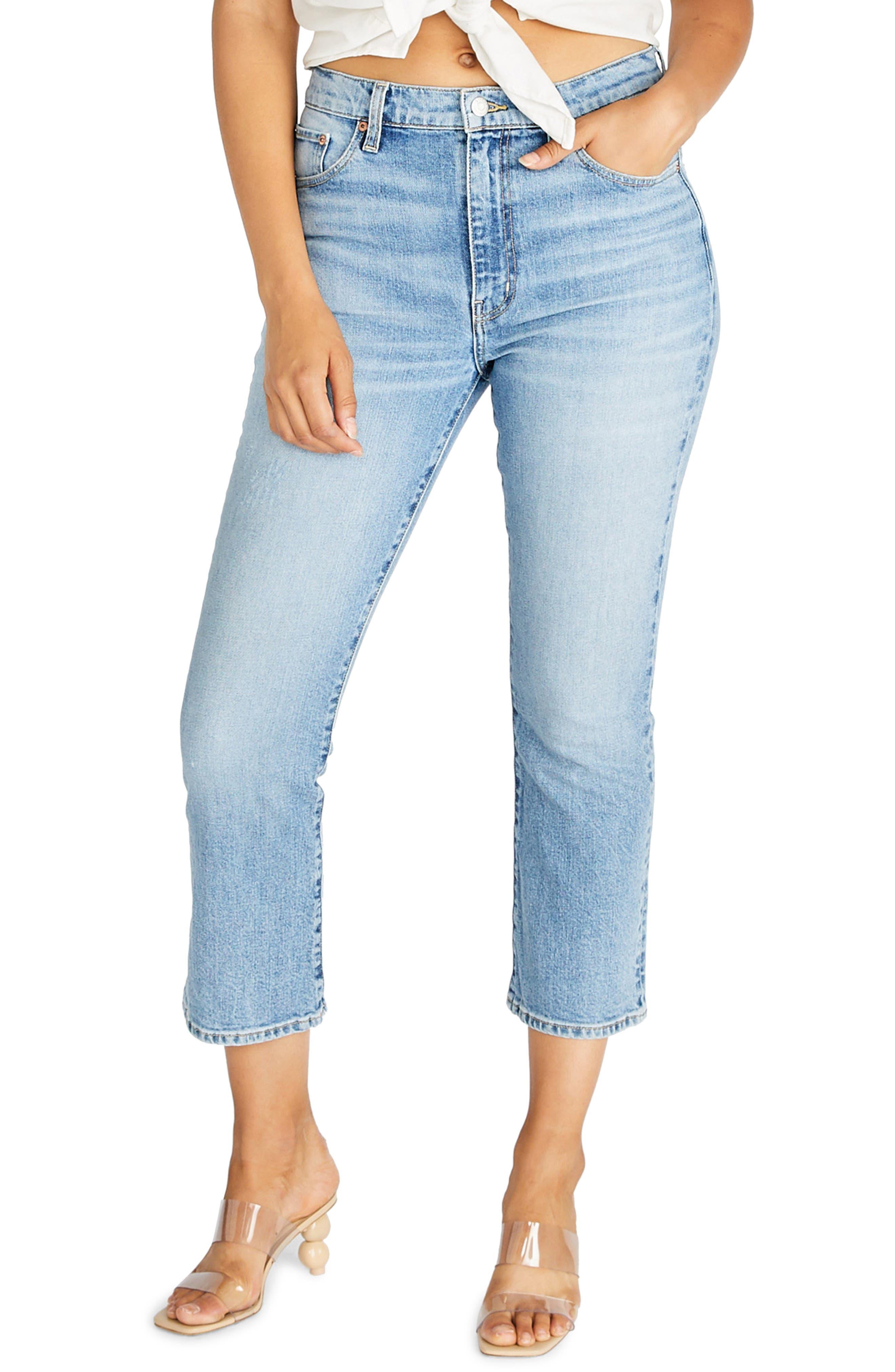Women's Etica Brigitte Trumpet Crop Jeans