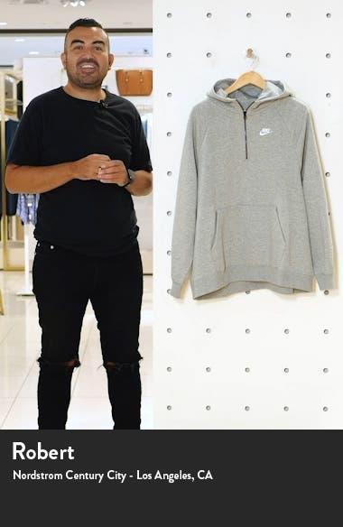 Essential Quarter Zip Hoodie, sales video thumbnail
