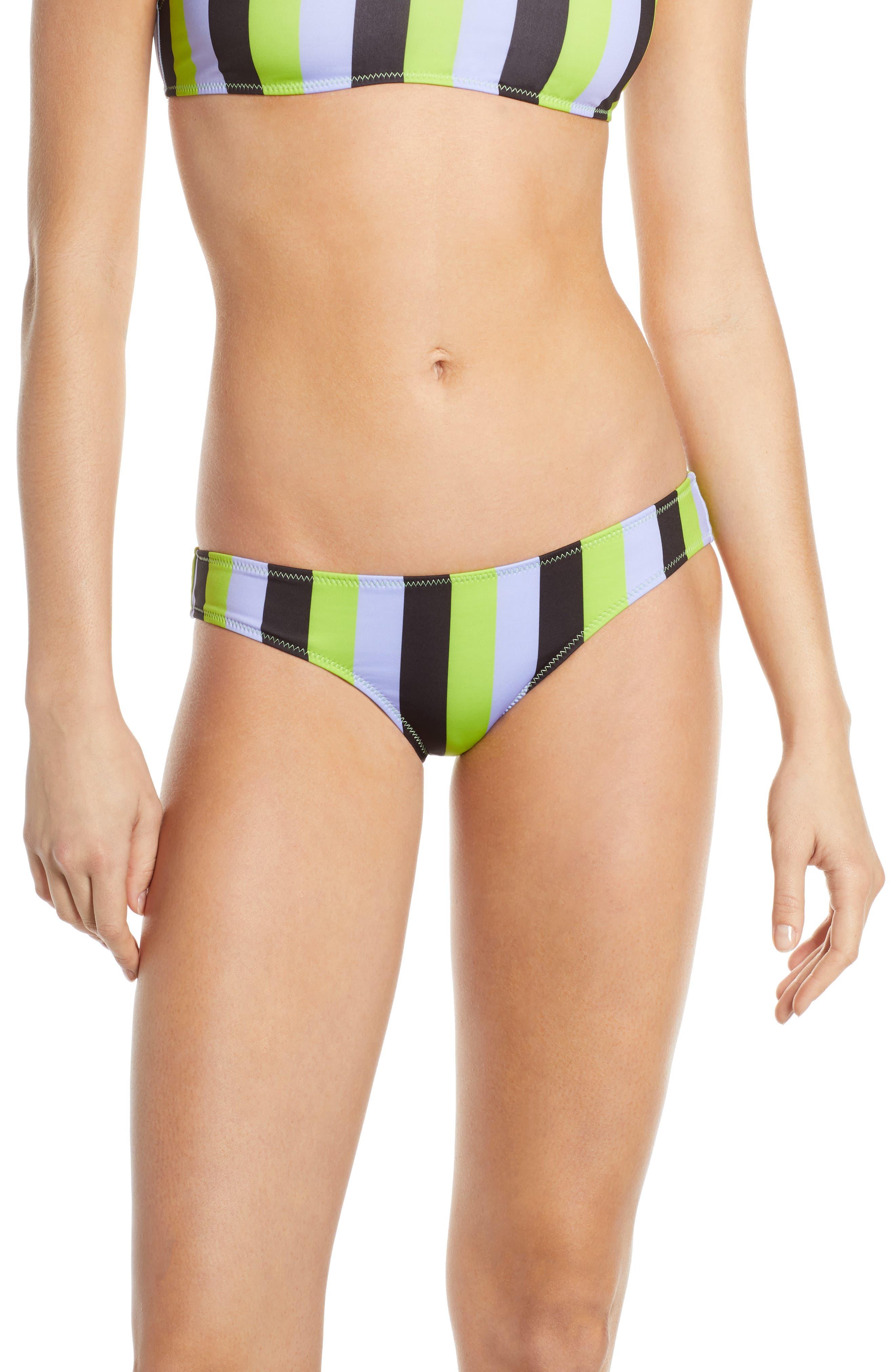 Solid & Striped Elle Bikini Bottoms, Purple