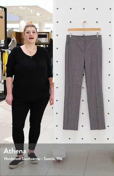 Check Ankle Stovepipe Pants, sales video thumbnail