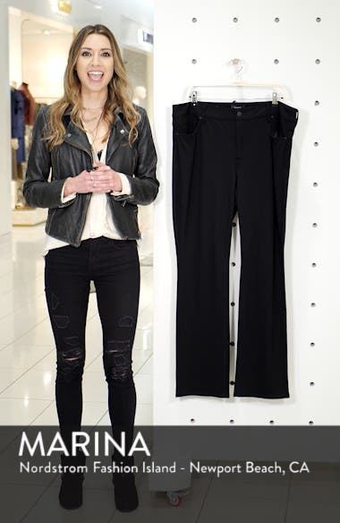 Marilyn Straight Ponte Knit Pants, sales video thumbnail