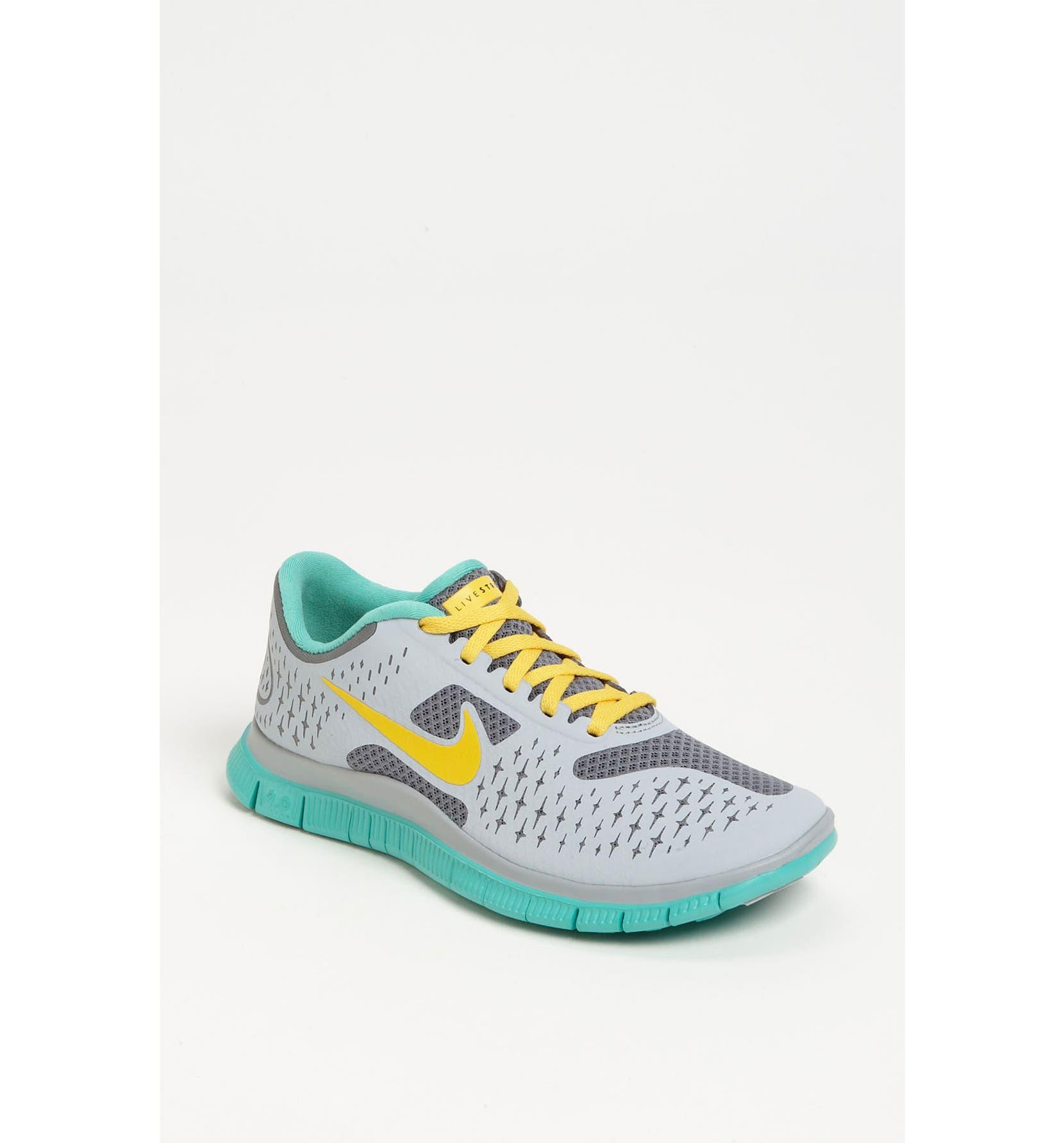 promo code f4ec0 c740a Nike  Free 4.0 V2 Livestrong  Running Shoe (Women)   Nordstrom