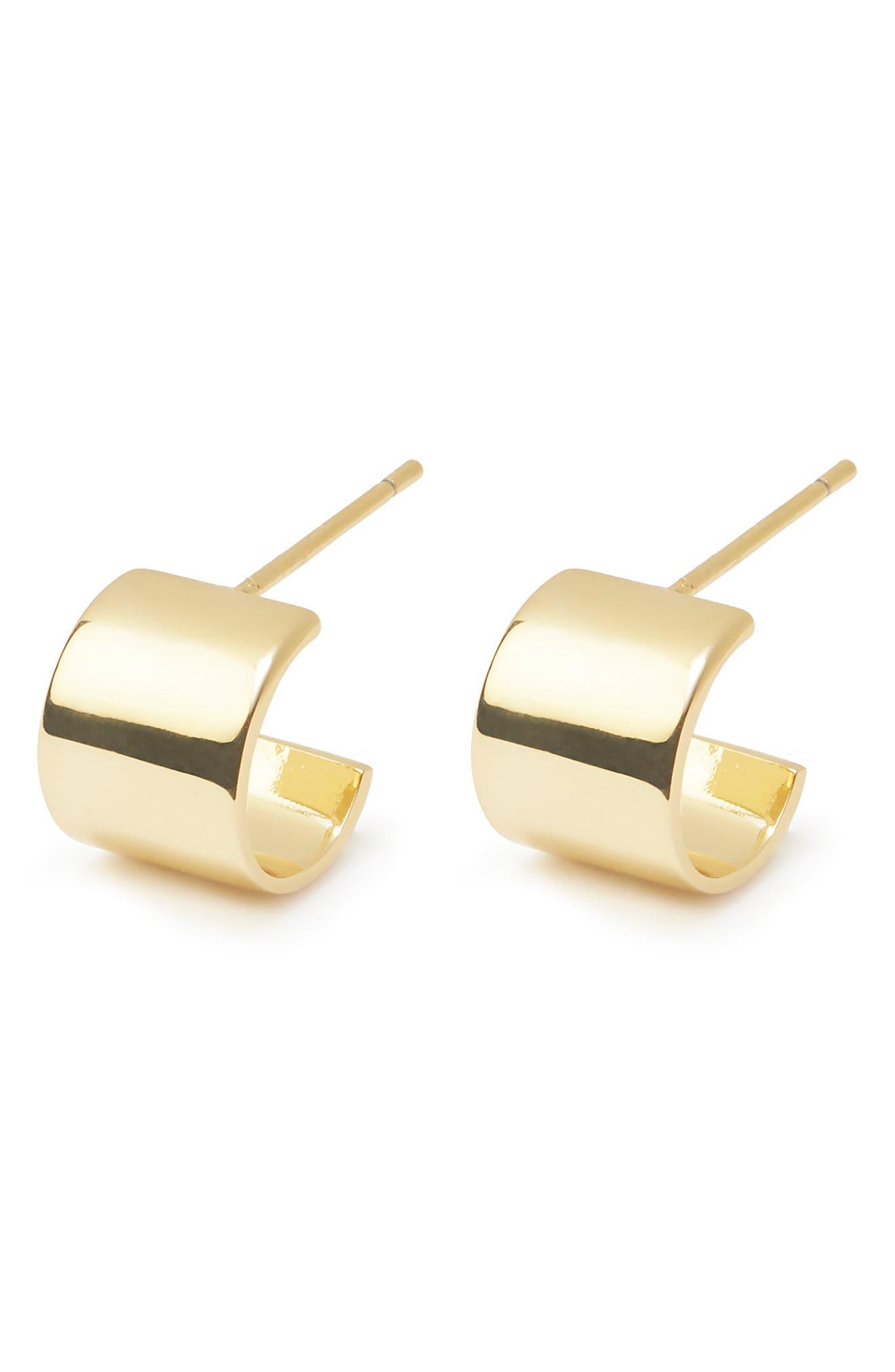 Jax Huggie Hoop Earrings