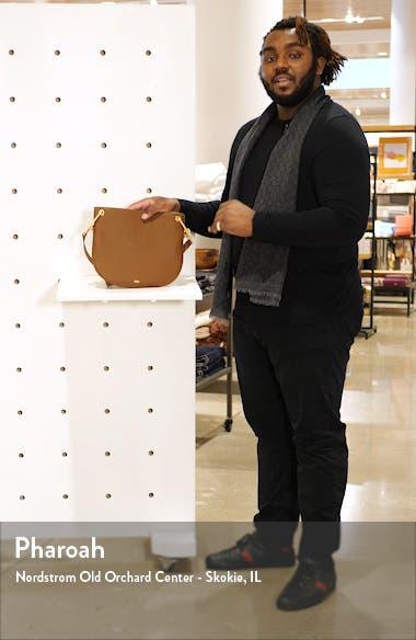 Kristin Leather Crossbody Bag, sales video thumbnail