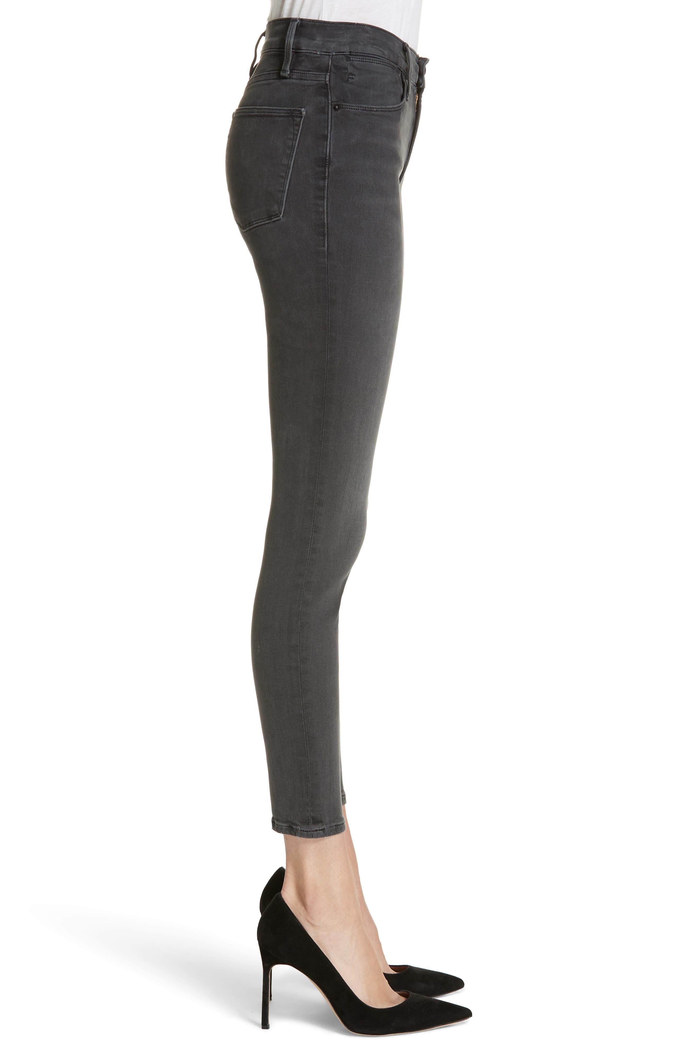 ,                             Le High Ankle Skinny Jeans,                             Alternate thumbnail 10, color,                             022