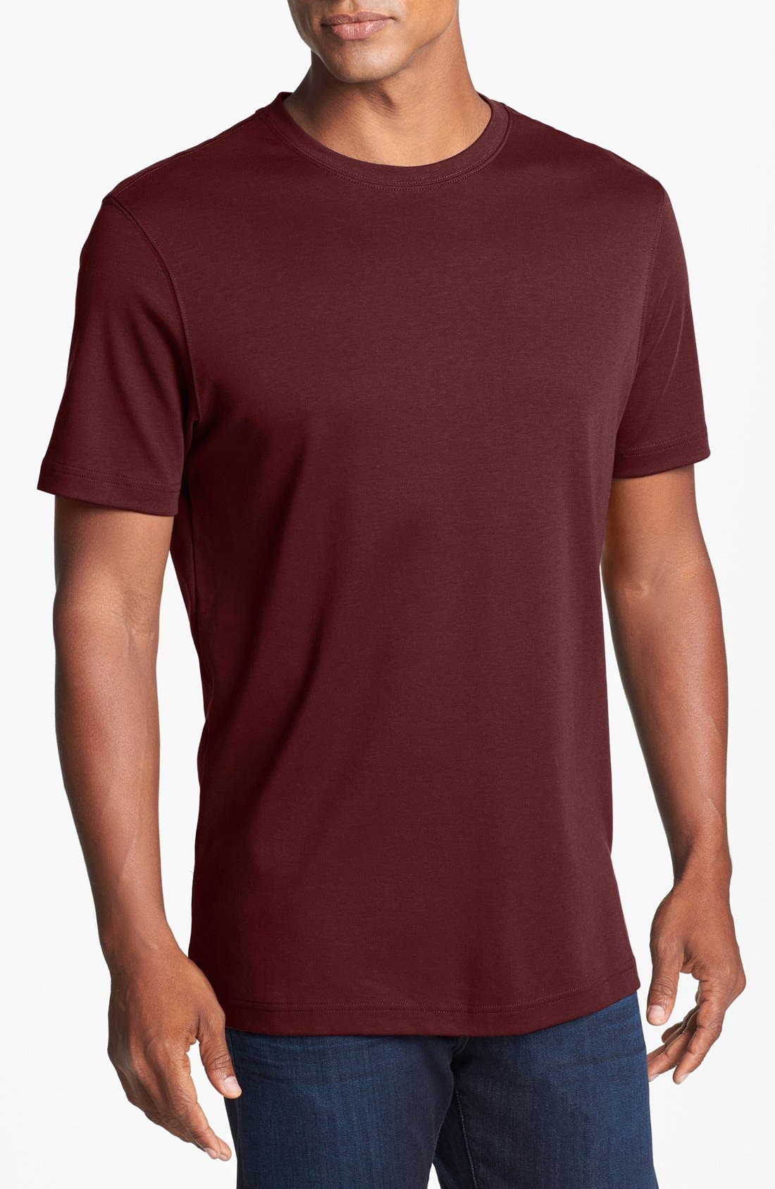 ,                             Georgia Crewneck T-Shirt,                             Main thumbnail 460, color,                             633