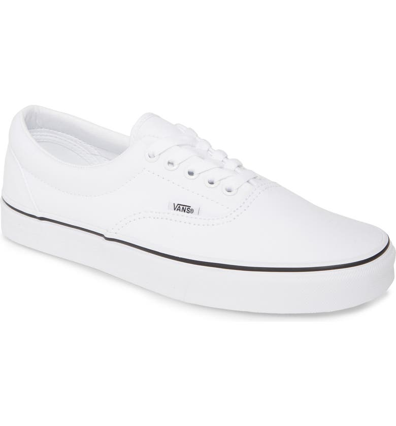 VANS Era Sneaker, Main, color, TRUE WHITE