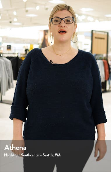 Side Tie Stretch Crepe Sheath Dress, sales video thumbnail