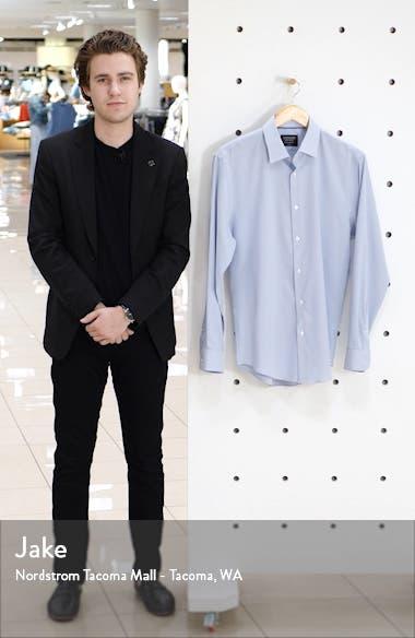 Tech-Smart Trim Fit Stripe Dress Shirt, sales video thumbnail