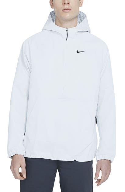 Nike Repel Men's Golf Anorak (photon Dust) In Black/ Black/ Black