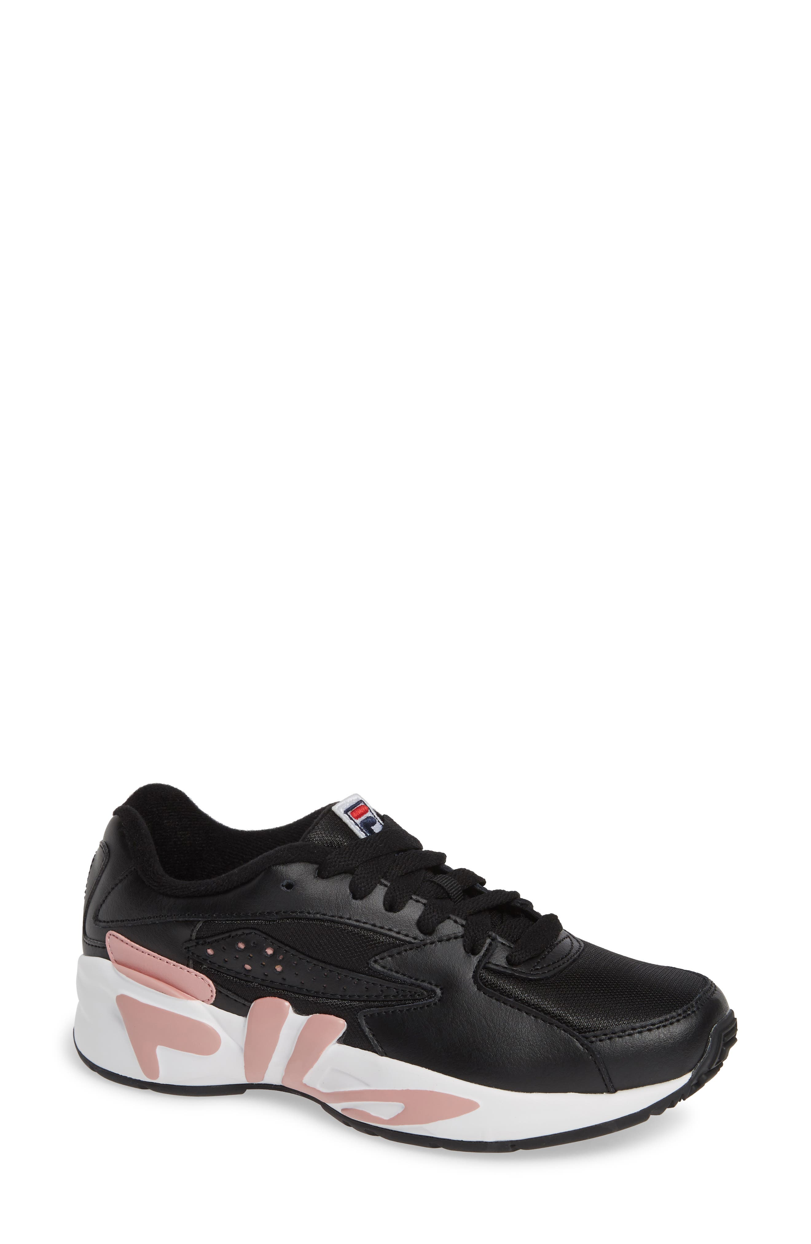 ,                             Mindblower Shoe,                             Main thumbnail 1, color,                             BLACK/ WHITE/ PINK SHADOW