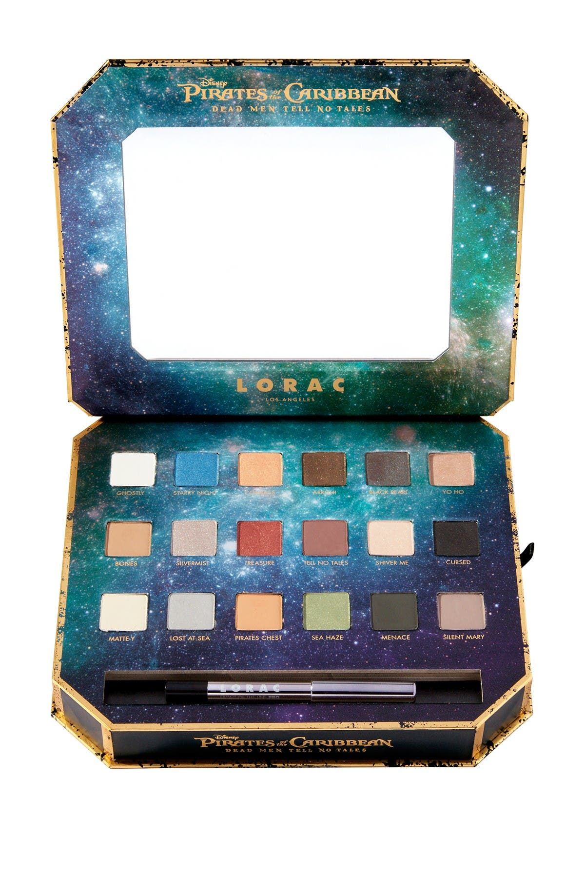 Image of LORAC Pirates of the Caribbean Eyeshadow Palette