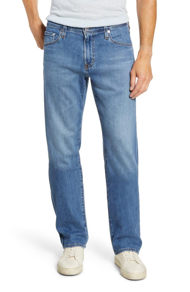 AG Protégé Straight Leg Jeans, Main, color, 483