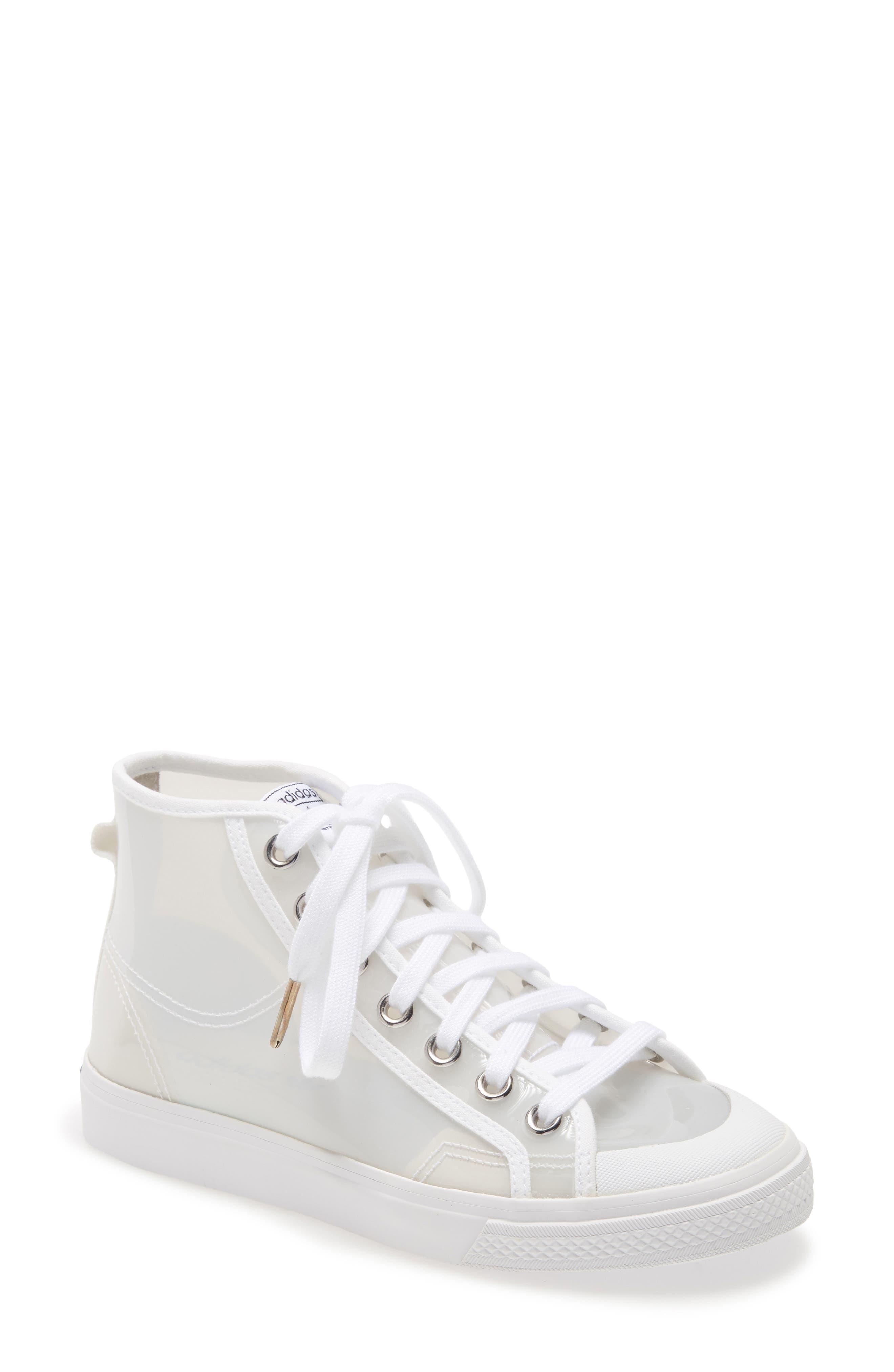 Women s Adidas Nizza Opaque High Top Sneaker E5120