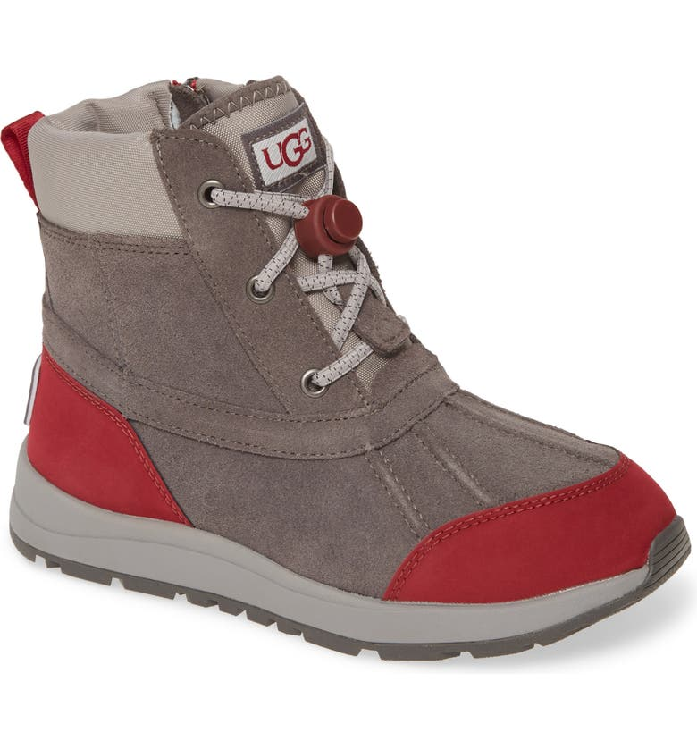 UGG<SUP>®</SUP> Turlock Waterproof Snow Boot, Main, color, CHARCOAL