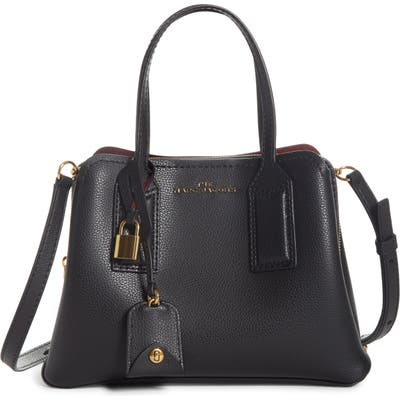 Marc Jacobs The Editor 29 Leather Crossbody Bag - Black