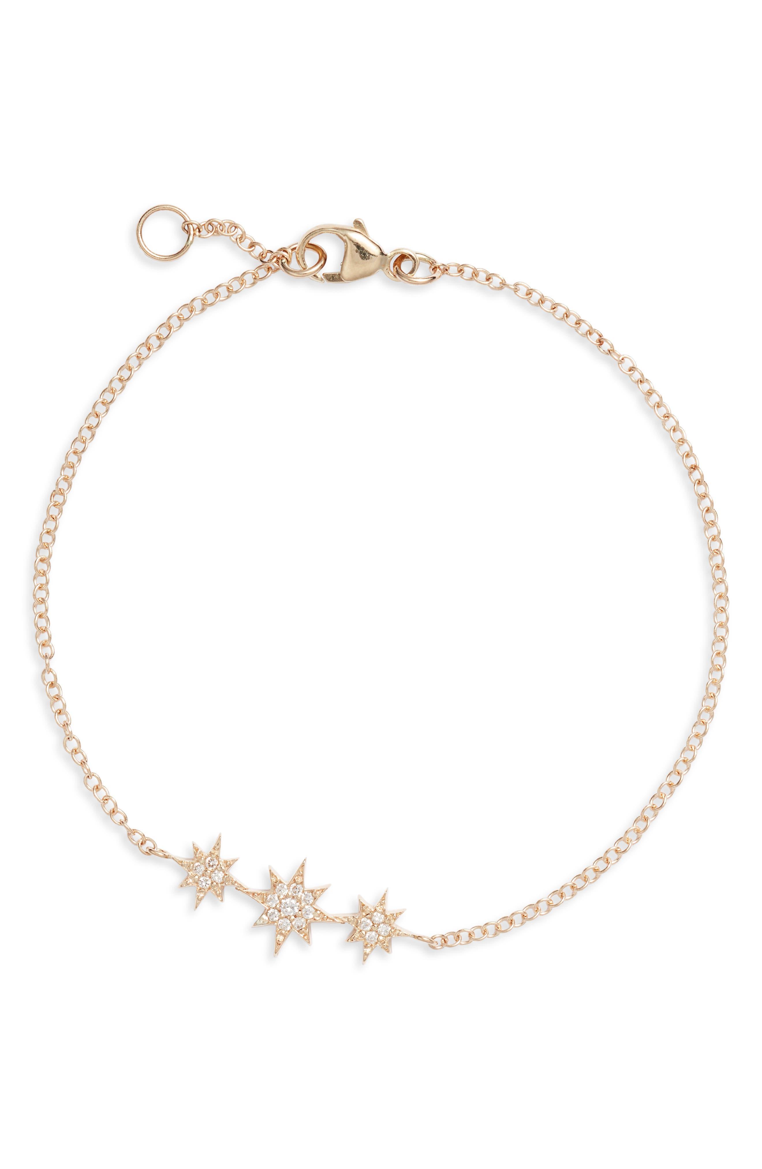 North Star Diamond Bracelet