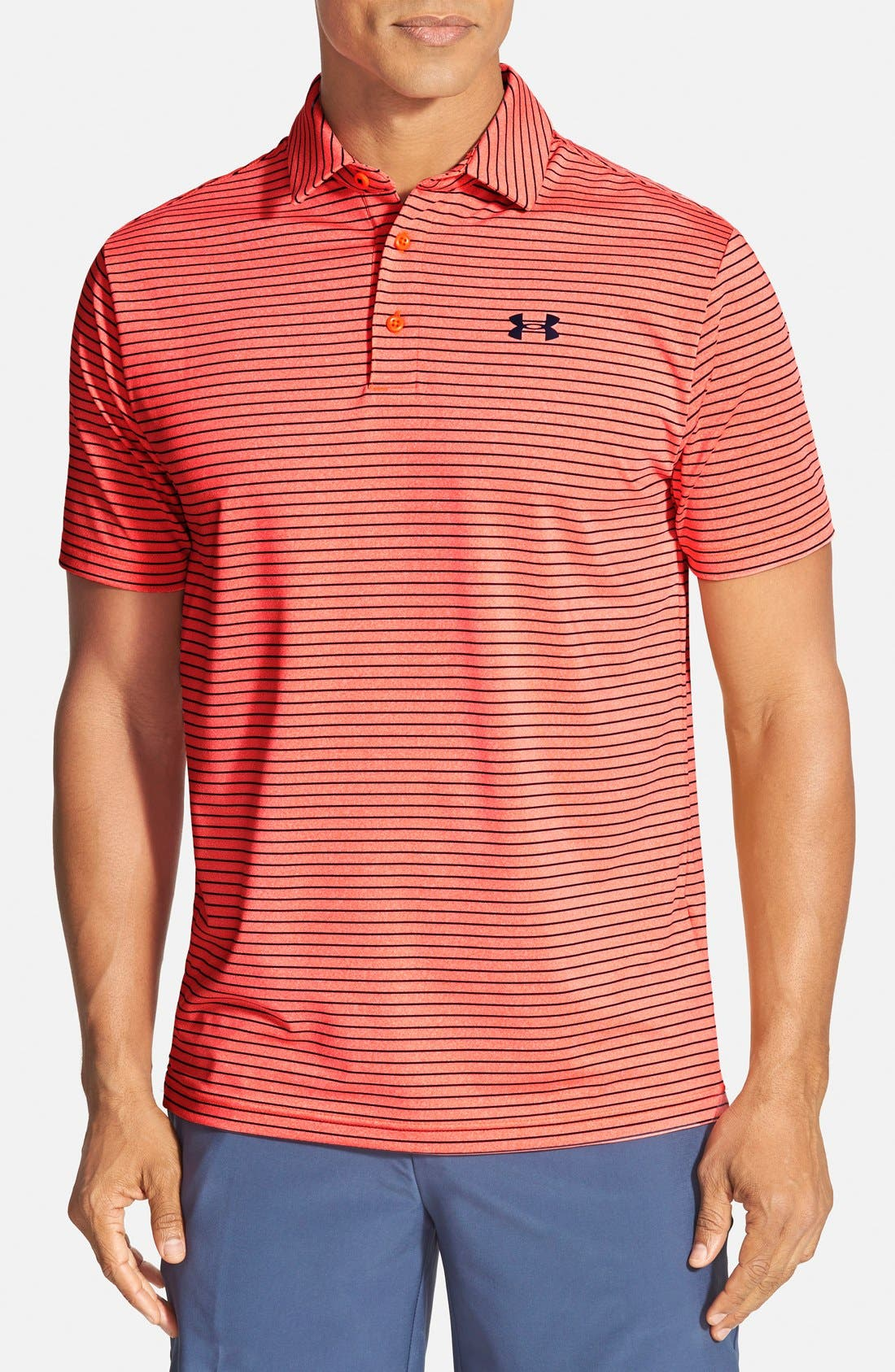 ,                             'Playoff' Loose Fit Short Sleeve Polo,                             Main thumbnail 398, color,                             811