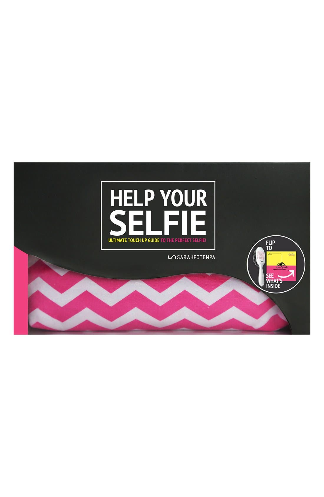 ,                             SARAHPOTEMPA 'Help Your Selfie' Mini OnSet Styling Brush,                             Alternate thumbnail 2, color,                             NO COLOR