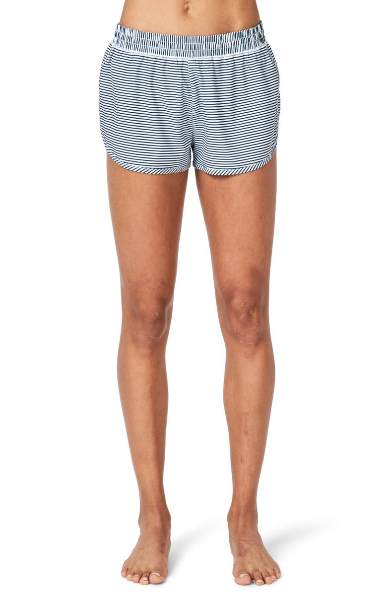 SWEATY BETTY Surfs Up Board Shorts, Main, color, 400