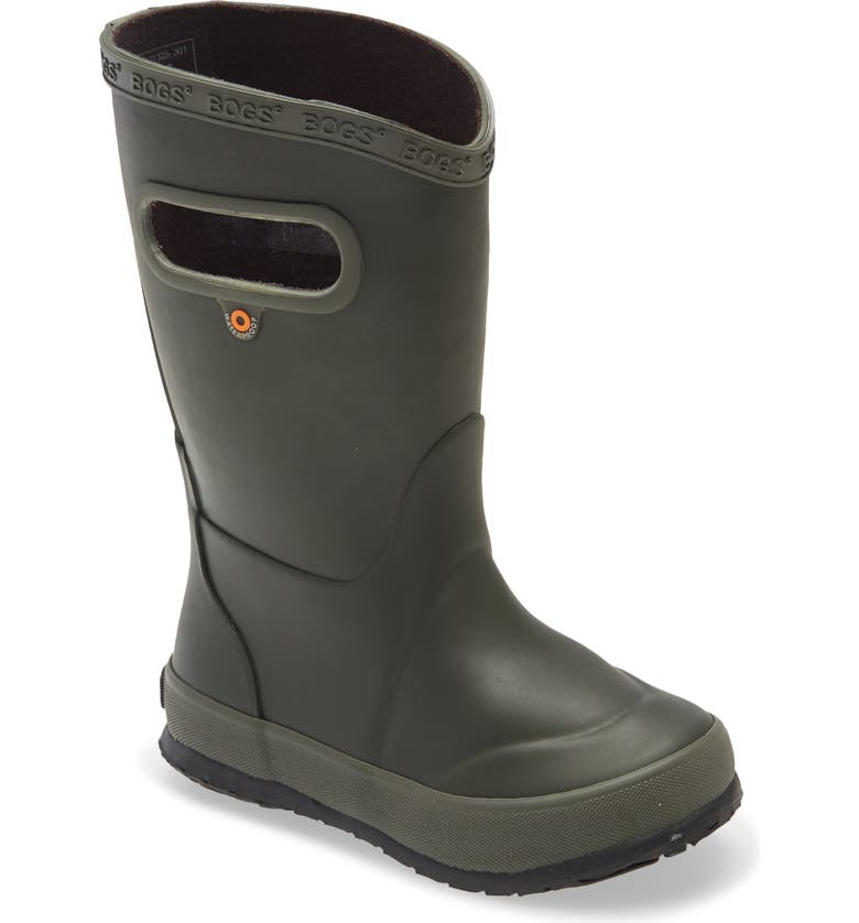 BOGS Waterproof Rain Boot, Main, color, DARK GREEN