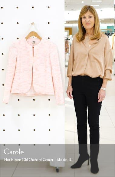 Etched Tweed Short Jacket, sales video thumbnail