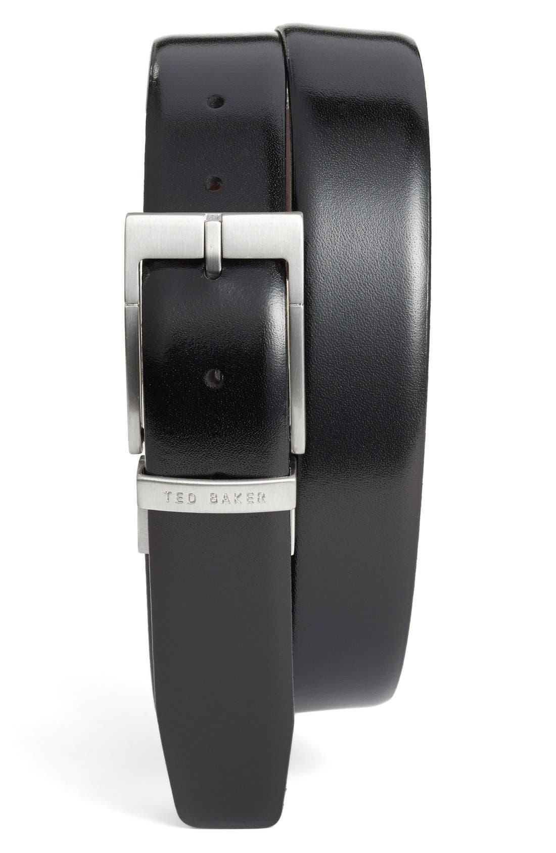 Ted Baker London Reversible Leather Belt