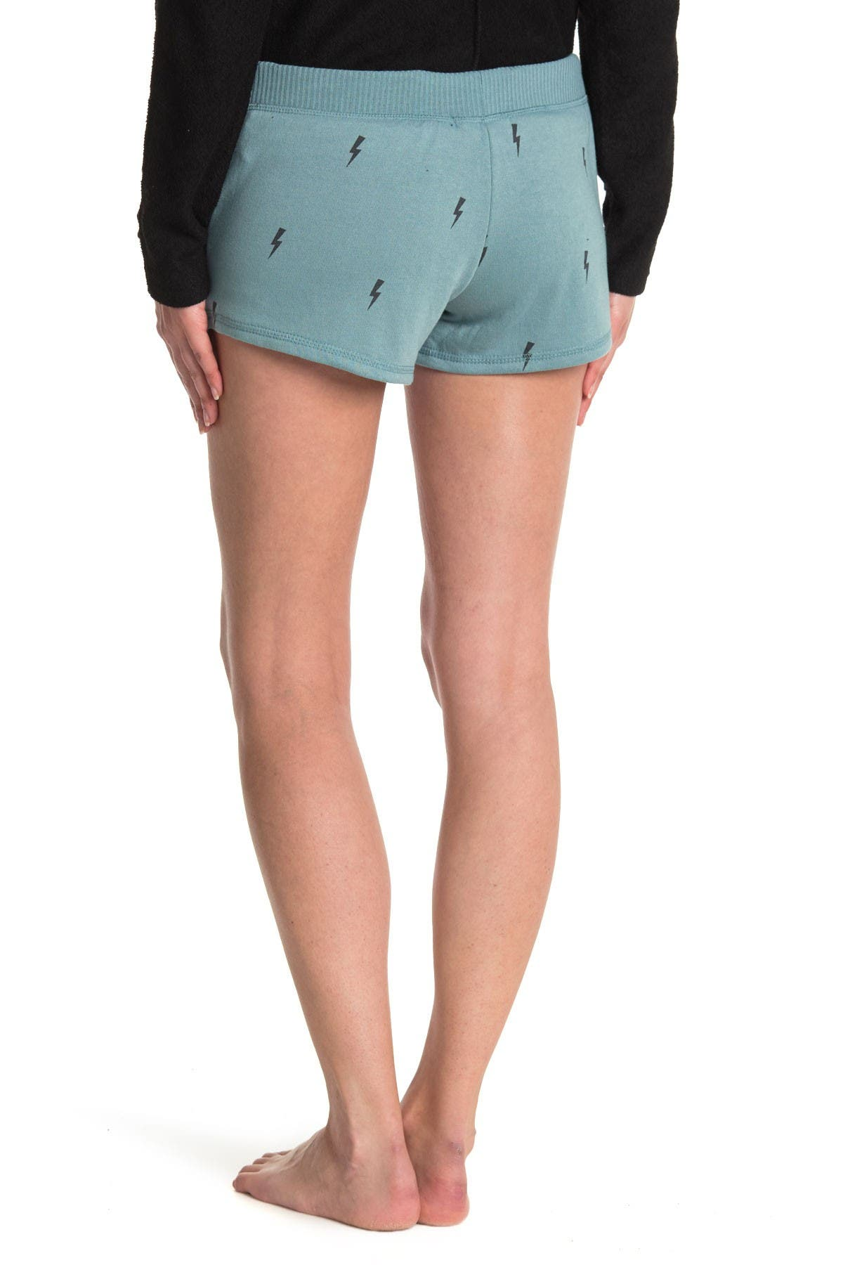 Image of Theo and Spence Printed Pajama Shorts