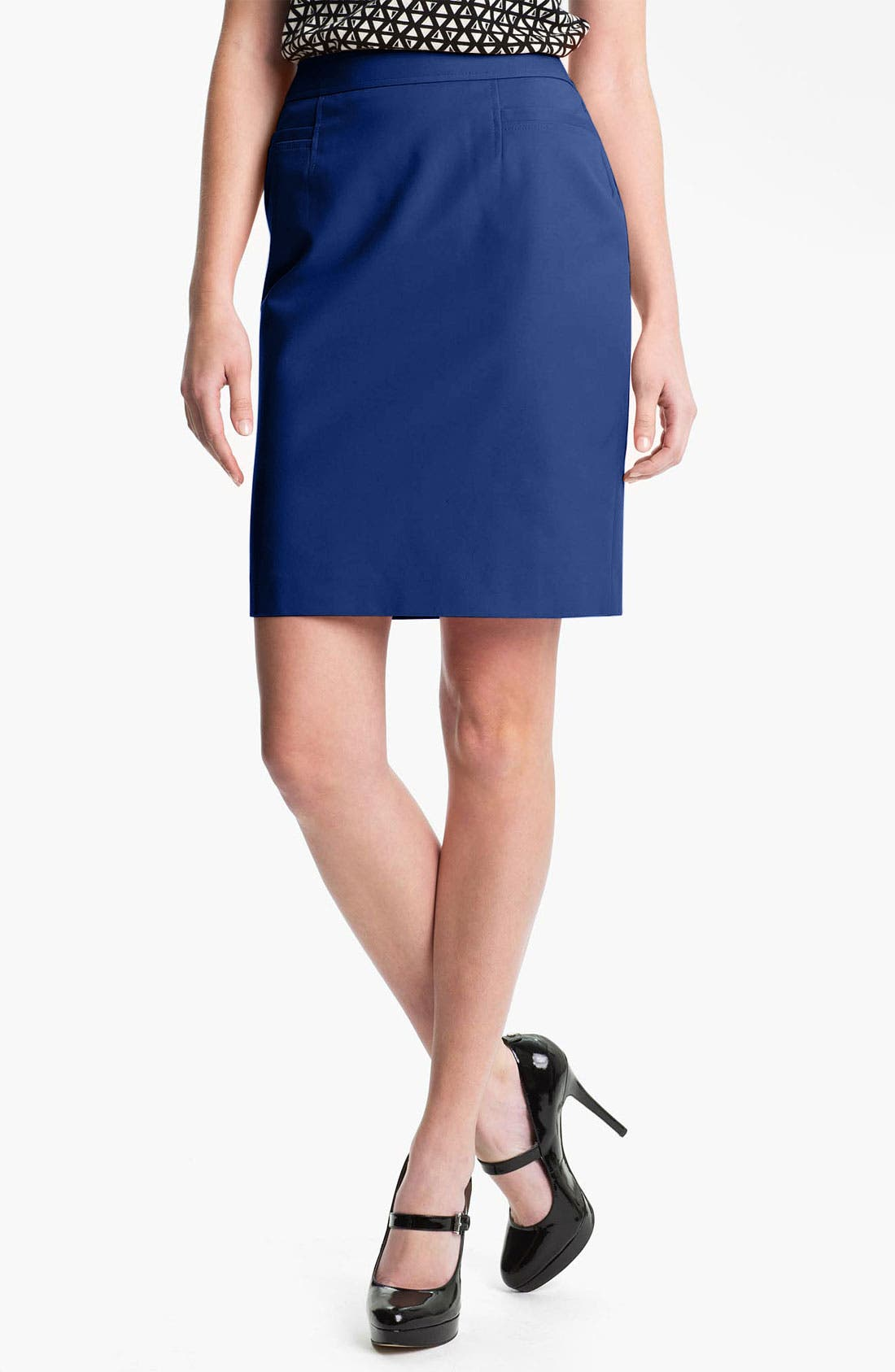 ,                             Stretch Woven Skirt,                             Main thumbnail 19, color,                             400