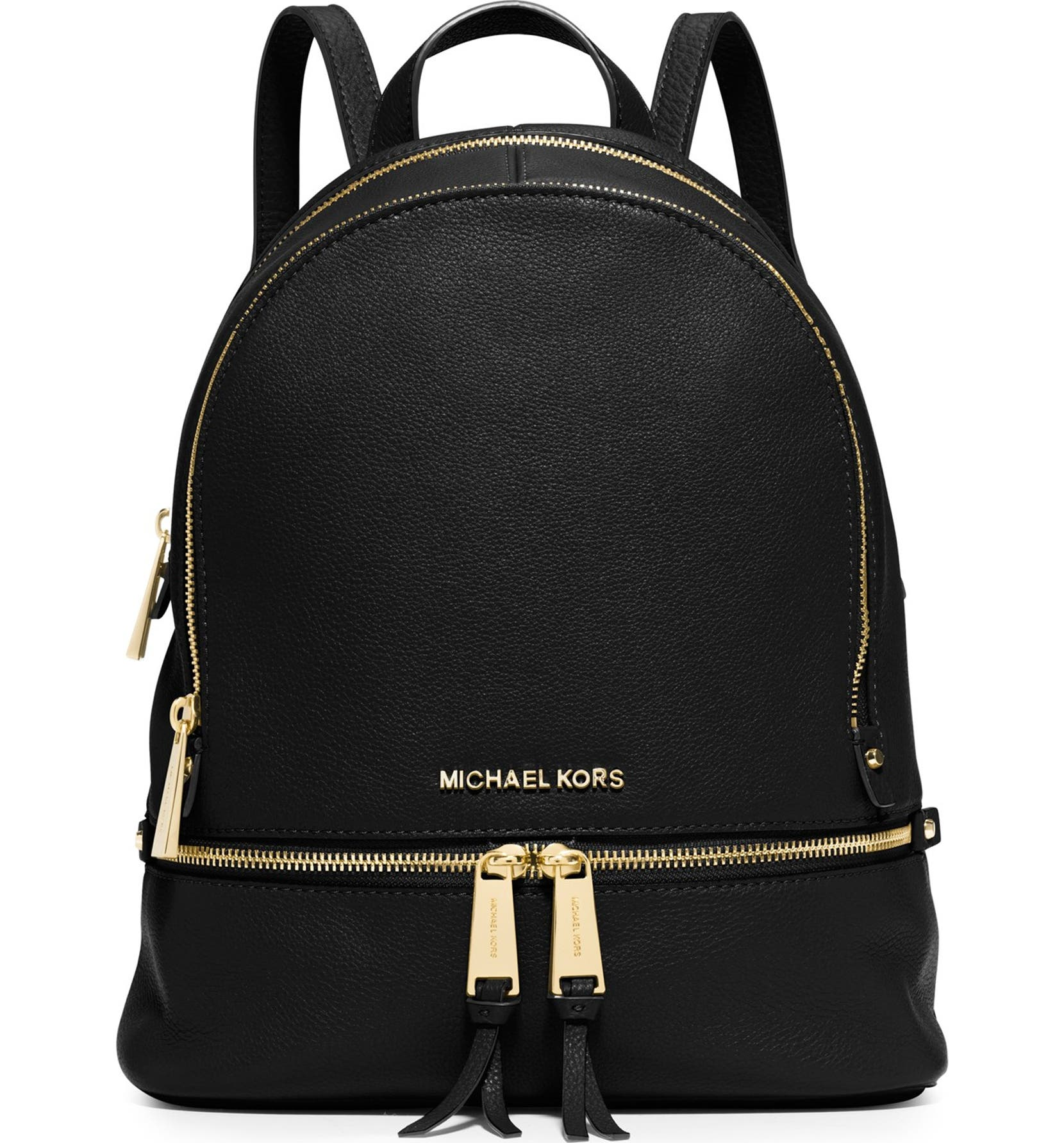 df2558750e65 MICHAEL Michael Kors 'Extra Small Rhea Zip' Leather Backpack | Nordstrom