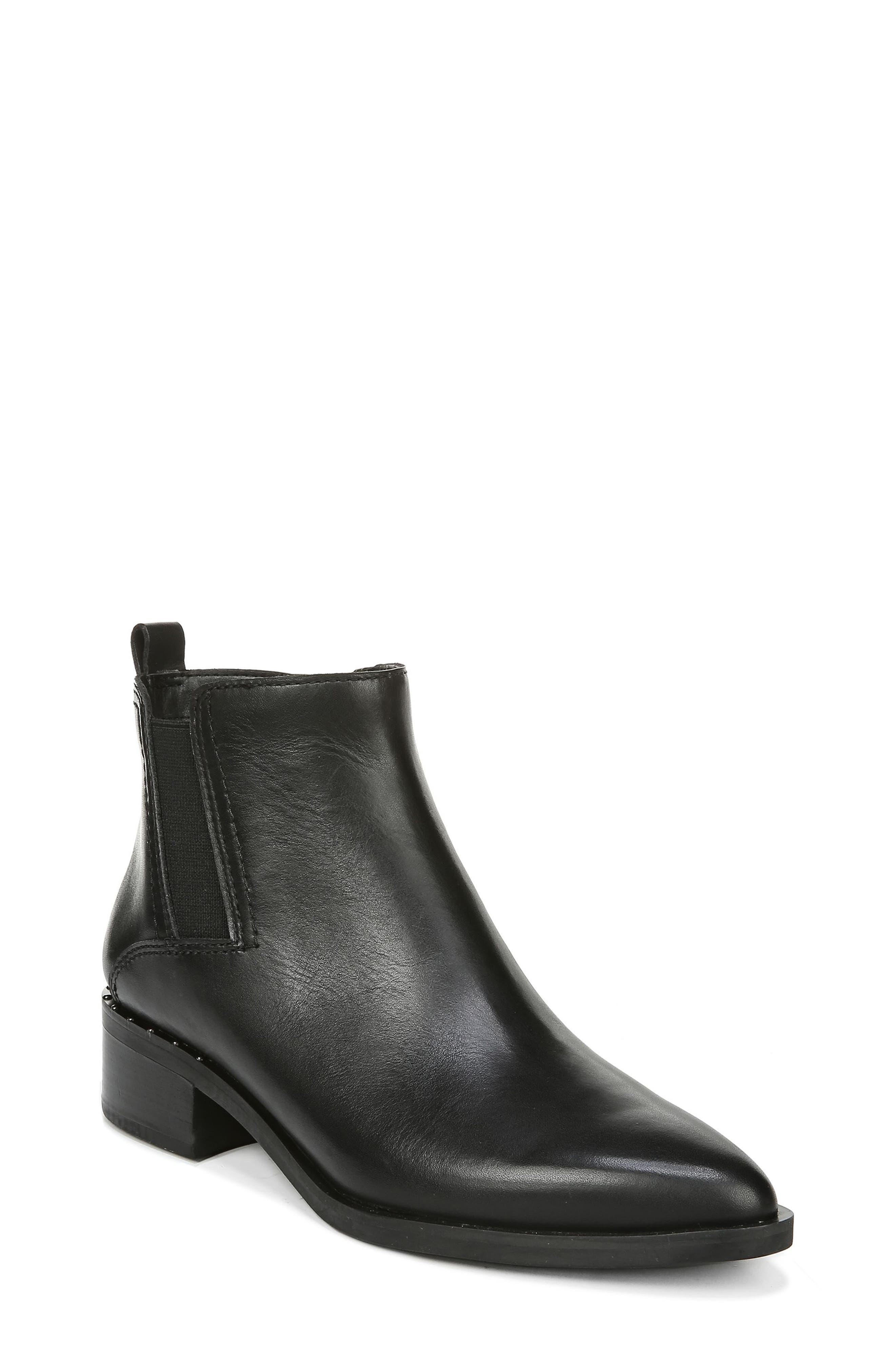 Image of Franco Sarto Domingo Leather Ankle Bootie