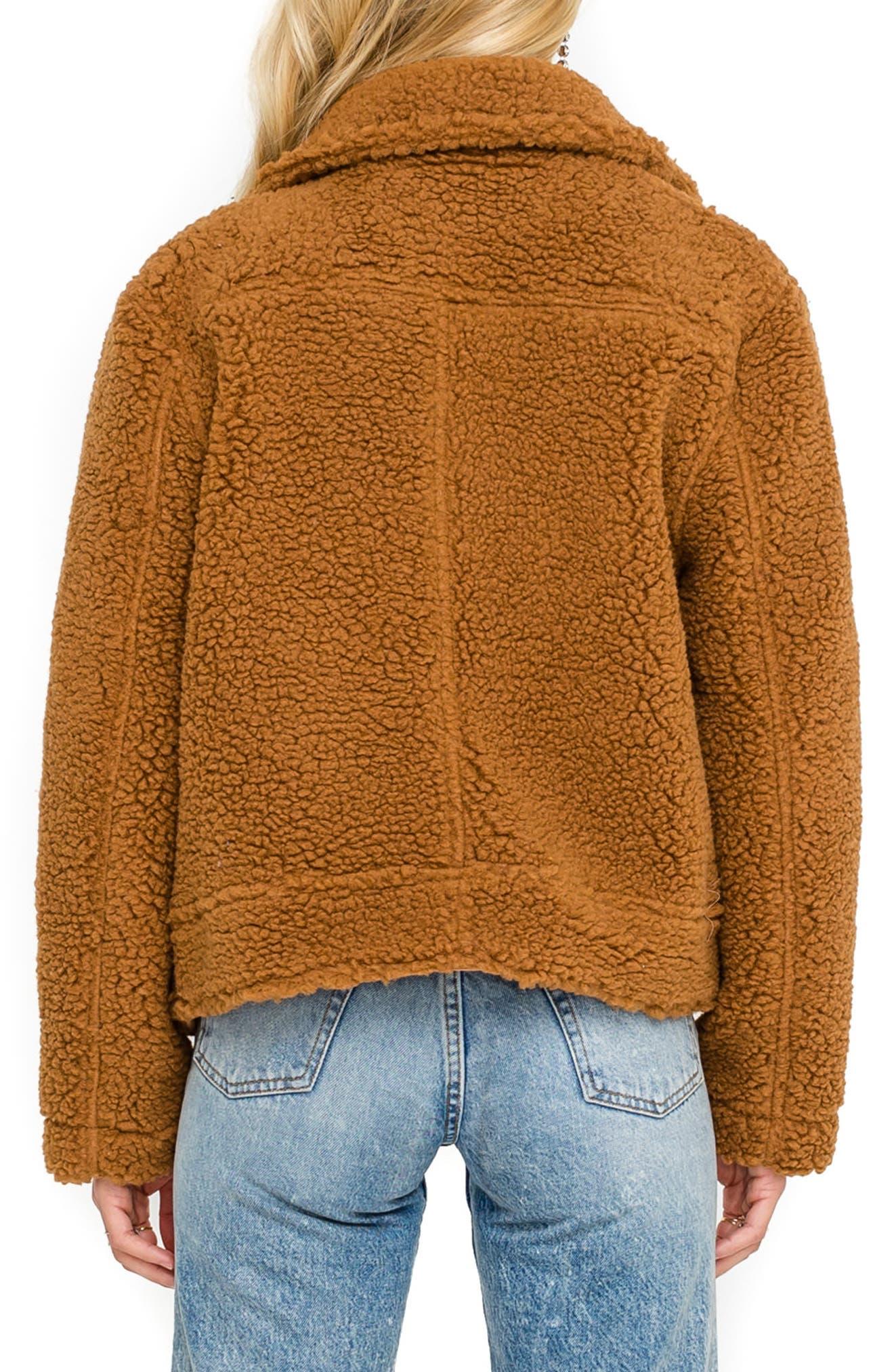 ,                             Brooklyn High Pile Fleece Jacket,                             Alternate thumbnail 2, color,                             205