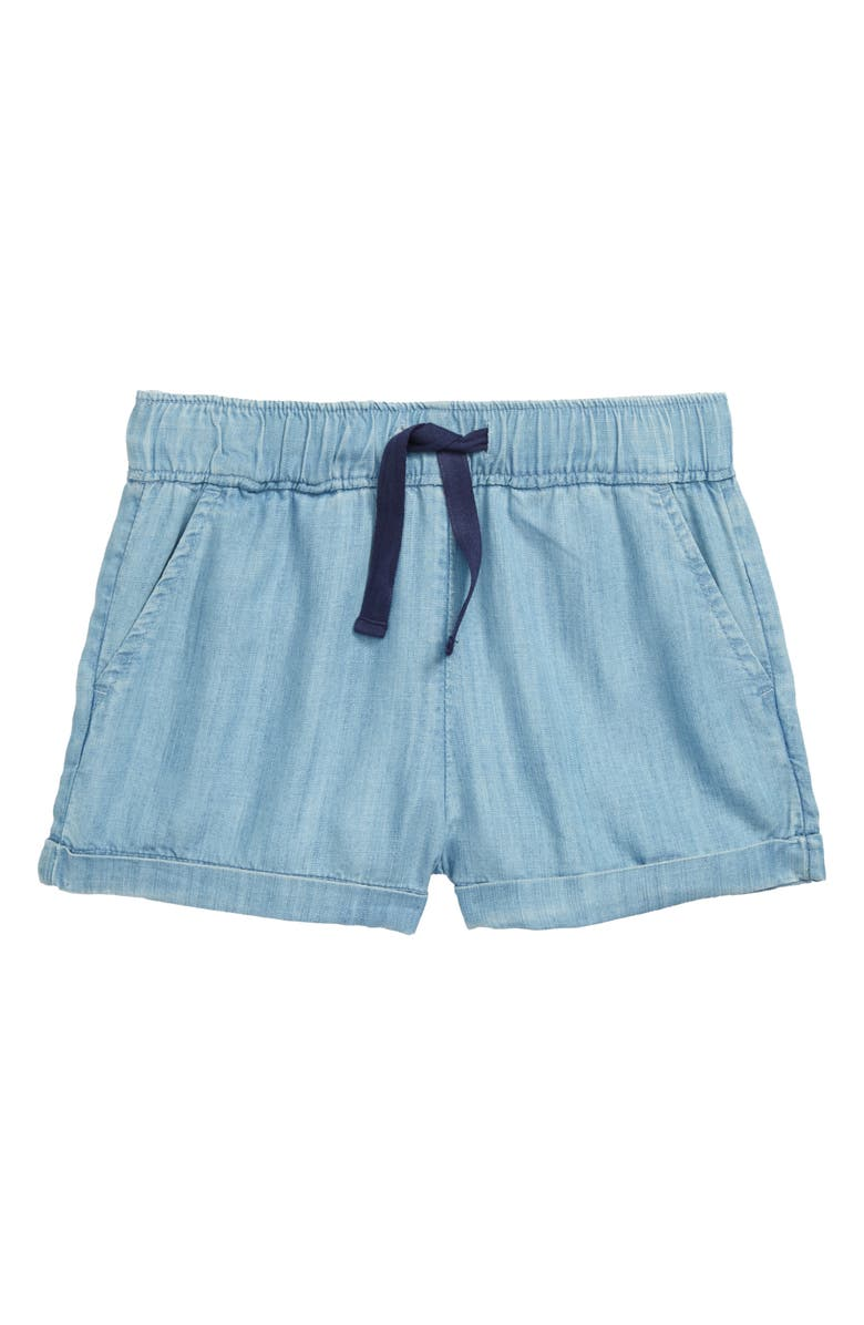 VINEYARD VINES Chambray Shorts, Main, color, LIGHT INDIGO