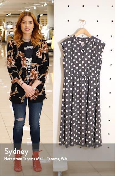 Polka Dot Midi Dress, sales video thumbnail