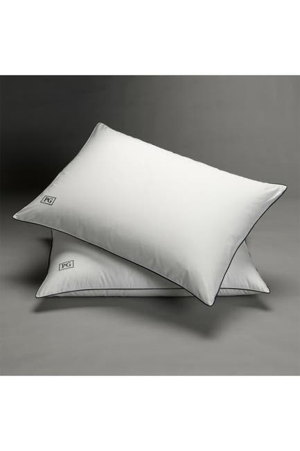 Image of Pillow Guy White Down Stomach Sleeper Soft Pillow - Set of 2 - Standard/Queen Size