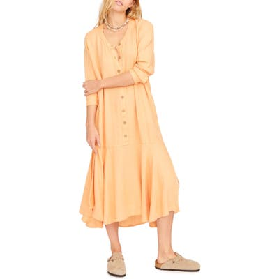 Endless Summer By Free People Mathilda Henley Shirtdress, Coral