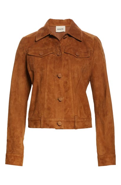 Khaite THE RICHARD SUEDE JACKET