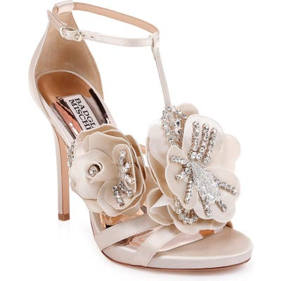 Badgley Mischka Lisa Sandal, Ivory