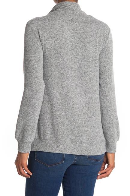 Image of philosophy Drawstring Funnel Kangaroo Pocket Sweater