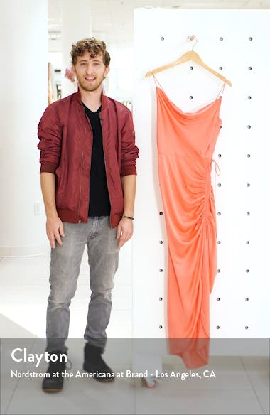 Natasha Ruched Column Dress, sales video thumbnail