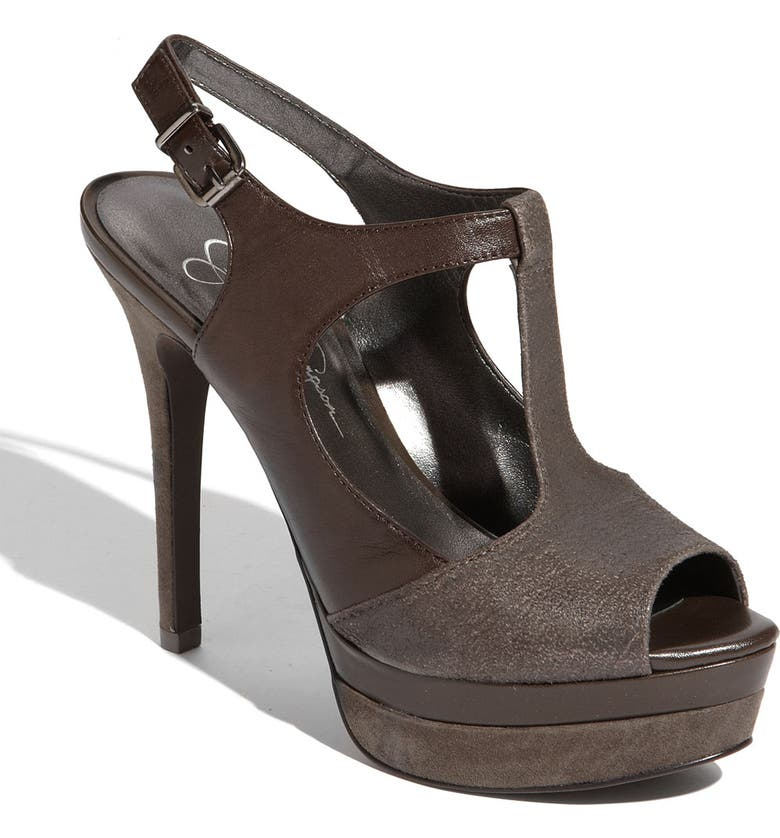 JESSICA SIMPSON 'Elso' Sandal, Main, color, STORM GREY