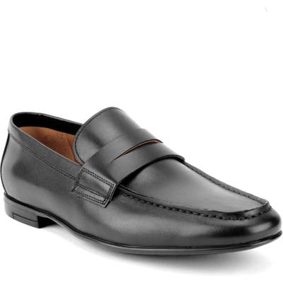 Gordon Rush Connery Penny Loafer, Black