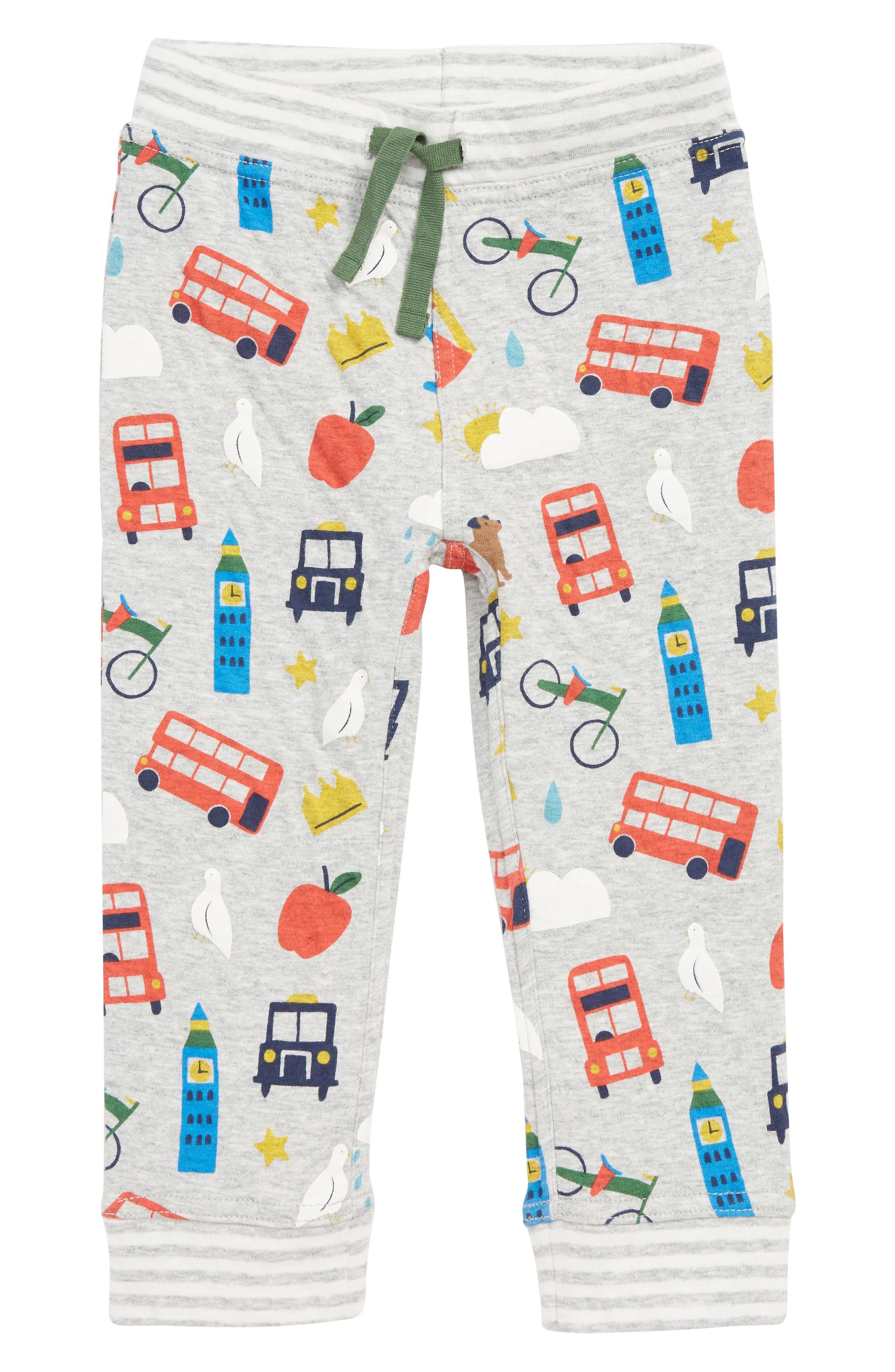 Fun Reversible Pants, Main, color, GRY GREY MARL LONDON BUSTLE