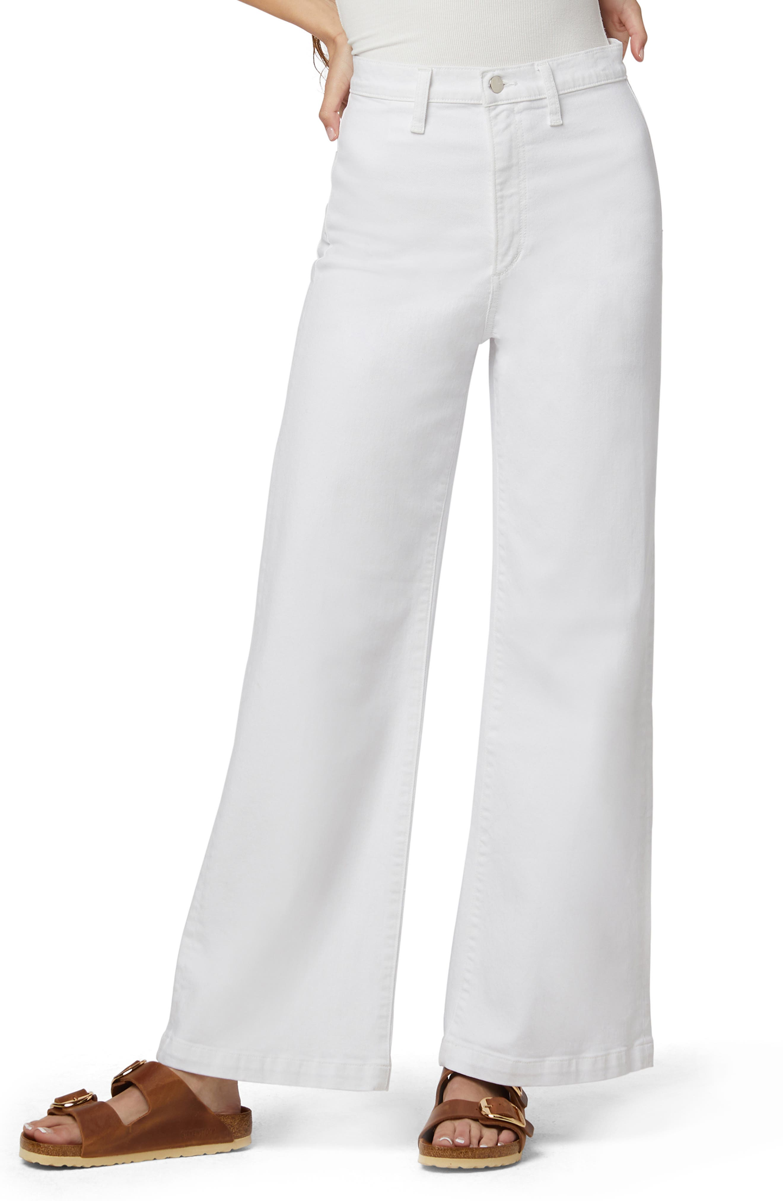 The Mischa Wide Straight Leg Jeans