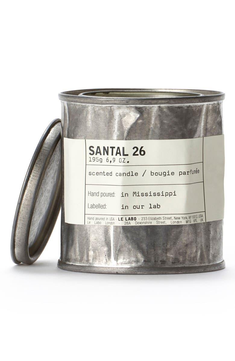 LE LABO 'Santal 26' Vintage Tin Candle, Main, color, NO COLOR
