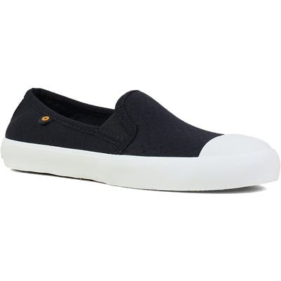 Bogs Kicker Slip-On Sneaker, Black