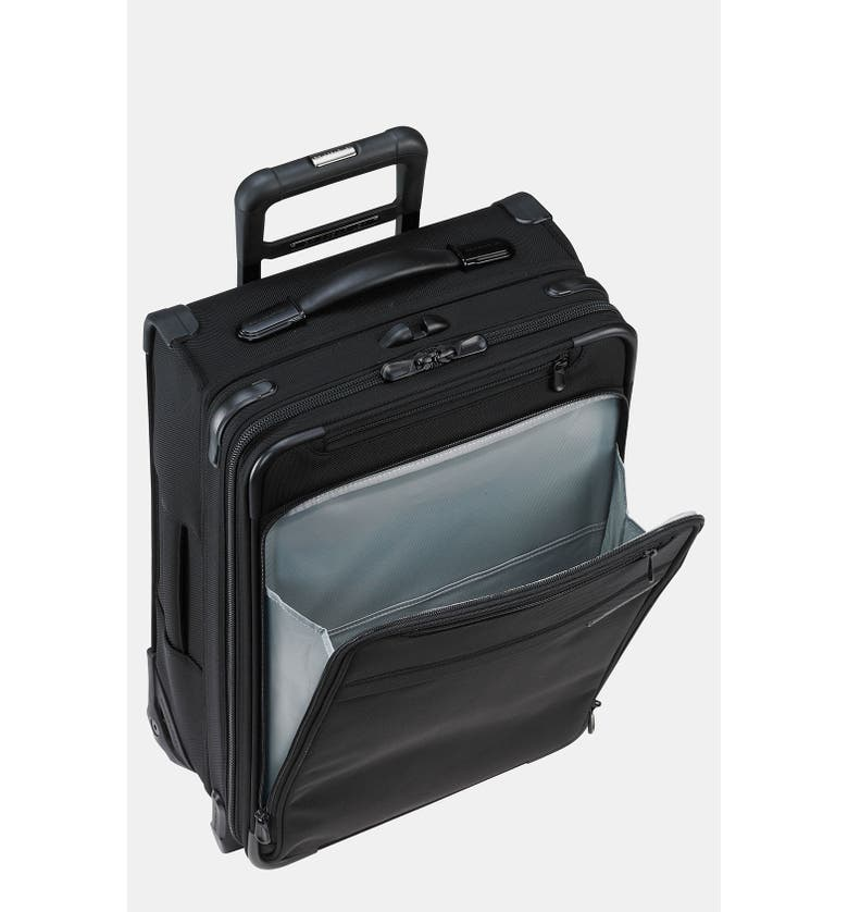 BRIGGS & RILEY 'Baseline - Commuter' Rolling Carry-On, Main, color, 001