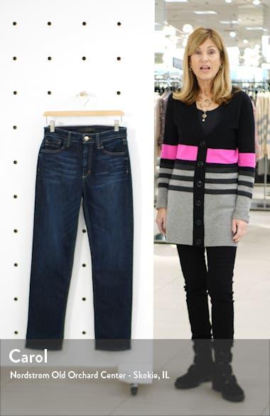 The Milla High Waist Crop Straight Leg Jeans, sales video thumbnail