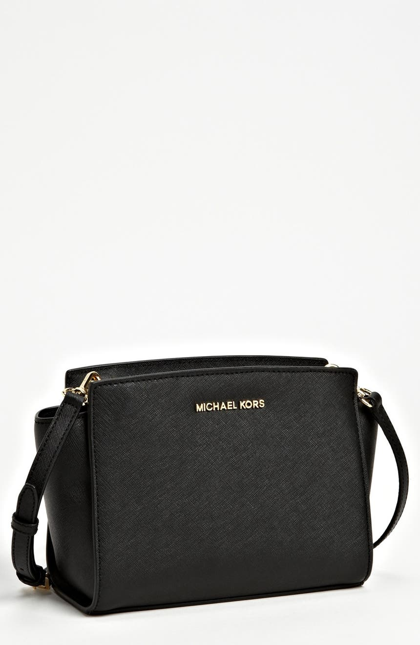 0df062ac8a71ce MICHAEL Michael Kors 'Medium Selma' Saffiano Leather Crossbody Bag |  Nordstrom