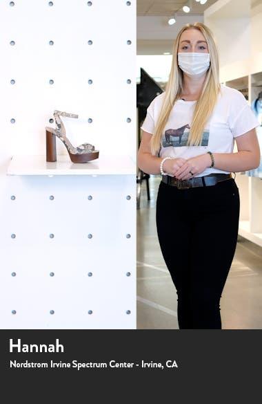 McKinley Platform Block Heel Sandal, sales video thumbnail